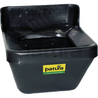 Mangeoire en plastique bordure anti-gaspillage