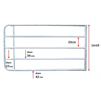Barrière extensible 5M05/6M00