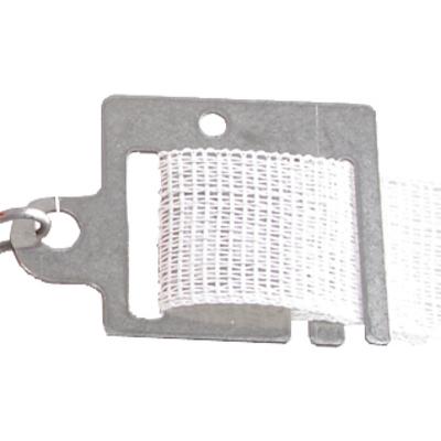 Plaquette de raccordement en acier pour poignée de porte (par 3)