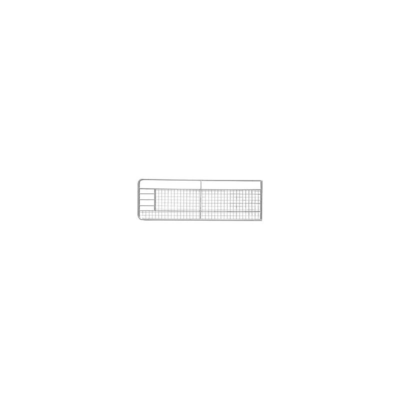 Barrière galva grillagée 4m00